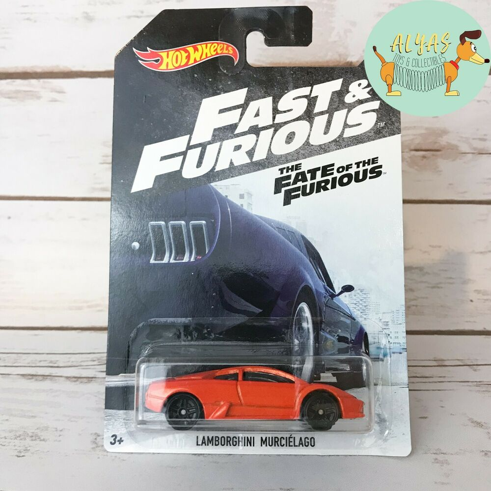 Hot Wheels Fast And Furious The Fate Of The Furious Lamborghini