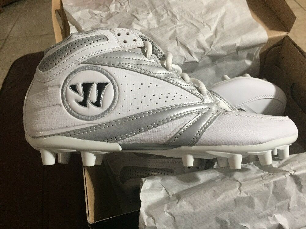 4cf9909dc New Men s Warrior Lacrosse Second Degree 3.0 Cleats Size 10 887687555159