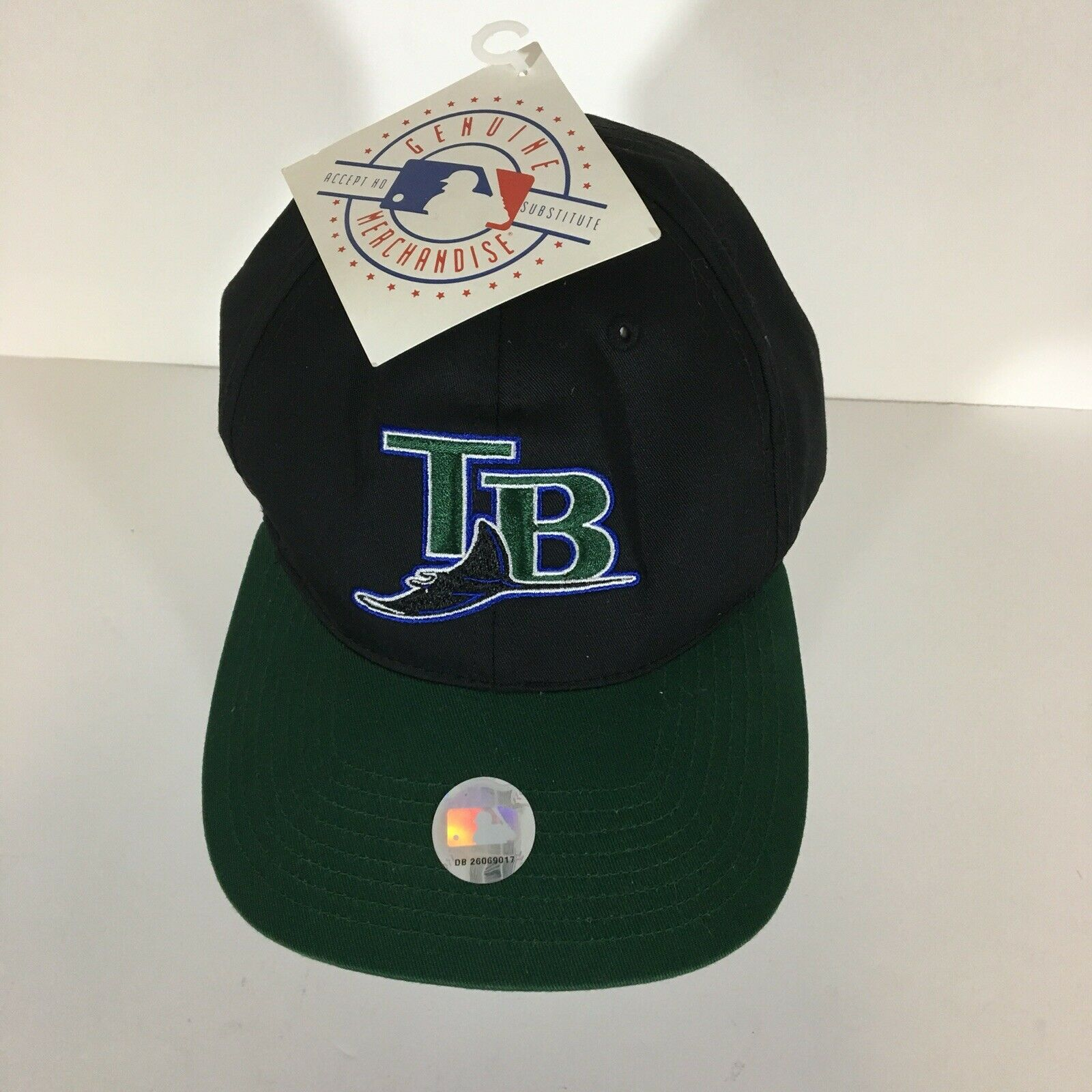 f14fcdaa476fc ... Cap UPC 053838001305 product image for Genuine Merchandise Twins  Enterprise Tampa Bay Devil Rays Vintage One Size