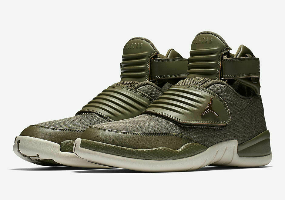 e49cb4117f44 Details about Nike Air Jordan Generation 23 Basketball Shoes Olive Green  AA1294-205 Men s NEW