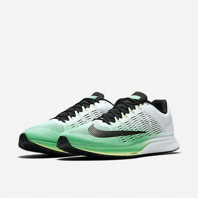 3b45134b2a4 Details about Nike Air Zoom Elite 9 Chlorine green White Men s Running  Shoes 863769 300 SZ 14