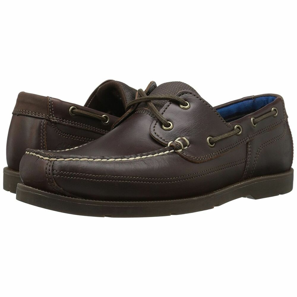 de0d580f9b Details about NIB-TIMBERLAND MEN'S PIPER COVE BOAT SHOES SIZE 10M~BROWN  LEATHER~TB0A19ZR
