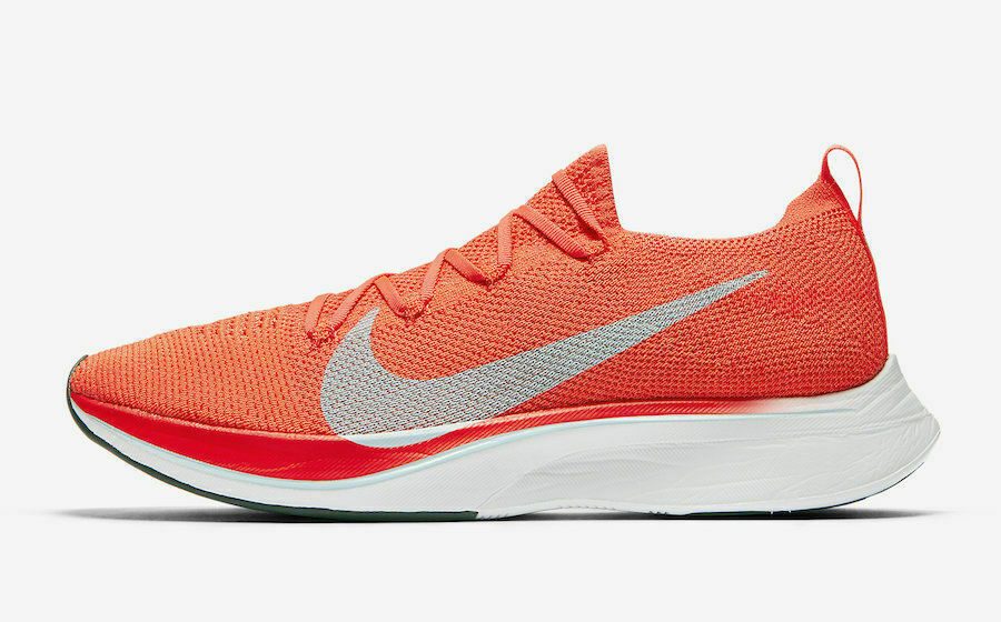 15731710fea65 Details about Nike Vaporfly 4% Flyknit Bright Crimson Orange AJ3857-600 New  Shoes Multi Size
