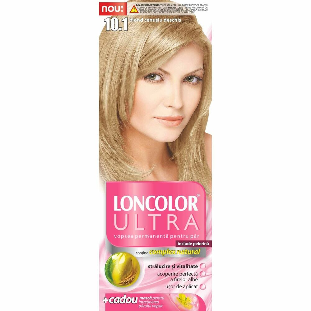 Loncolor Ultra Permanent Hair Color 101 Light Blonde Vivid