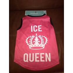 Female Dog Tank Top Size L ''Ice Queen''