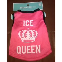 Female Dog Tank Top Size S ''Ice Queen''