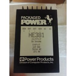Power Products / Computer Products HE381 5V power supply **NEW* UIC p/n 24041000