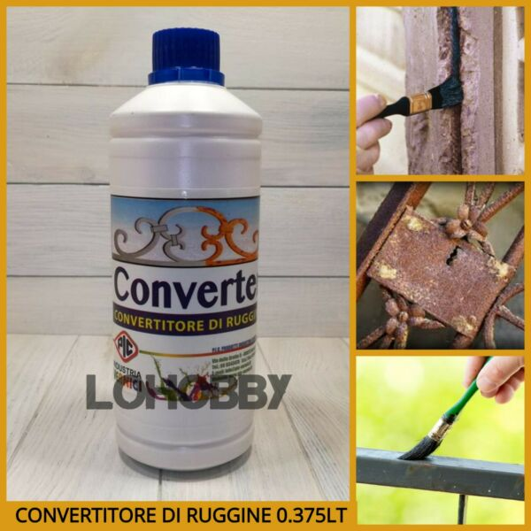 Convertitore di ruggine liquido convertiruggine anti converti elimina ruggine