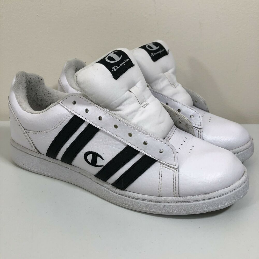 6f0c8441b8d87 Details about rare vintage low top champion sneakers men white og classic  jpg 1000x1000 90s champion