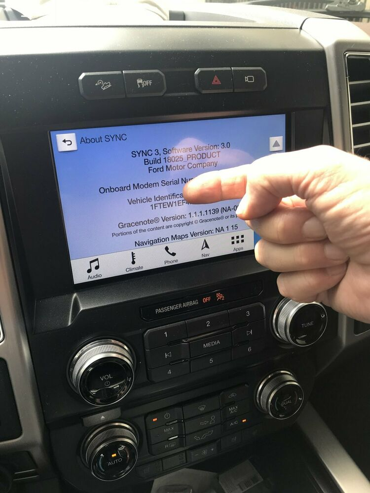 FORD LINCOLN APIM SYNC 3 MY TOUCH MFT OEM FACTORY GPS NAV SOFTWARE UPDATE III EBay