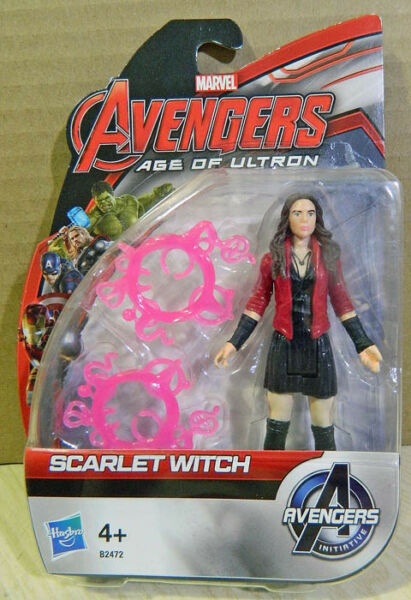 MARVEL AVENGERS AGE of ULTRON: SCARLET WITCH alto 11 CM. - HASBRO - NUOVO