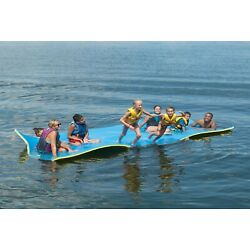 Kyпить Layer Floating Oasis Water Pad Island Water Sports Mat Float Pad Utility US на еВаy.соm
