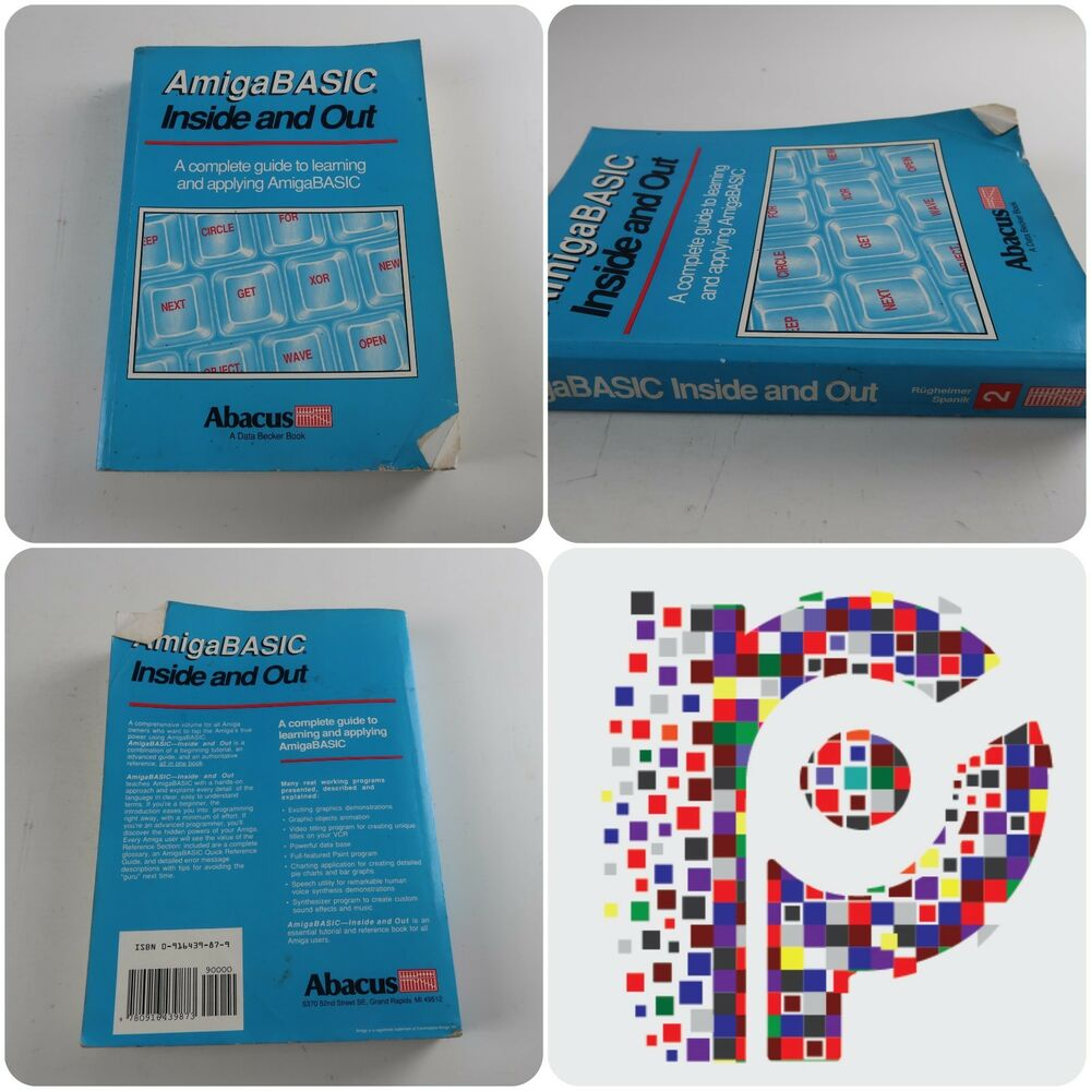 Amiga BASIC Inside and Out A complete Guide to Learning and Applying  AmigaBASIC | eBay