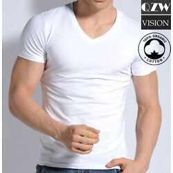 Kyпить 3-6 Pack Mens 100% Cotton Tagless Crew Round V-Neck T-Shirt Undershirt Tee White на еВаy.соm
