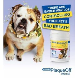 Proden Natural Plaque Off Pets Bad Breath Tartar  & Plaque Dogs & Cats 60gm