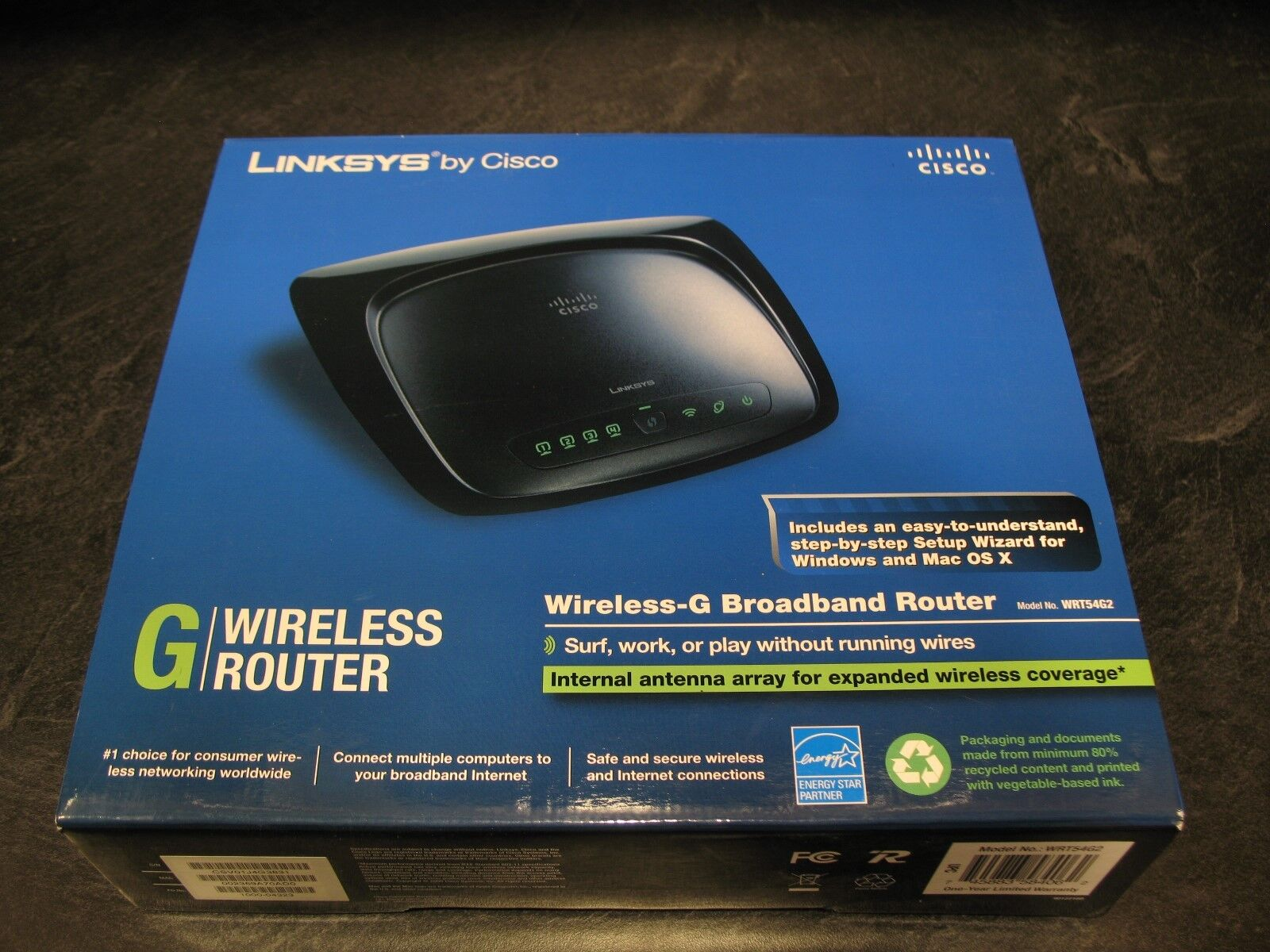 UPC 745883584093 - Cisco-Linksys WRT54G2 Wireless-G