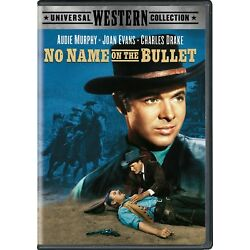 No Name On the Bullet DVD Audie Murphy NEW