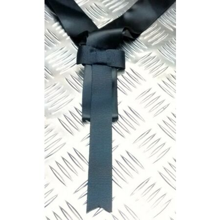 img-Genuine British Royal Navy Class 2 Scarf Ensemble Black