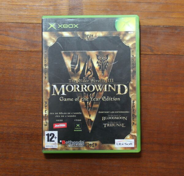 Jeu Xbox FR Morrowing game of the year edition complete