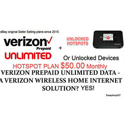 Kyпить Verizon Original Unlimited Hotspot Plan- $50 a month. Grandfathered IMEI на еВаy.соm