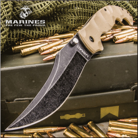 img-Couteau United Cutlery USMC Scorching Sands A/O Lame Acier 3Cr13 UC3214