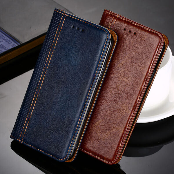 Magnetic Flip Card PU Leather Case Cover For Huawei P30 P20 P10 Pro/Lite/P9 plus