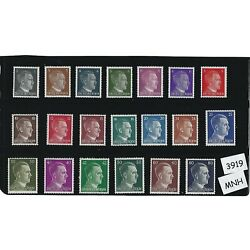 Kyпить MNH stamp set / 20 Adolph Hitler stamps / Third Reich / WWII Germany / 1941-1944 на еВаy.соm