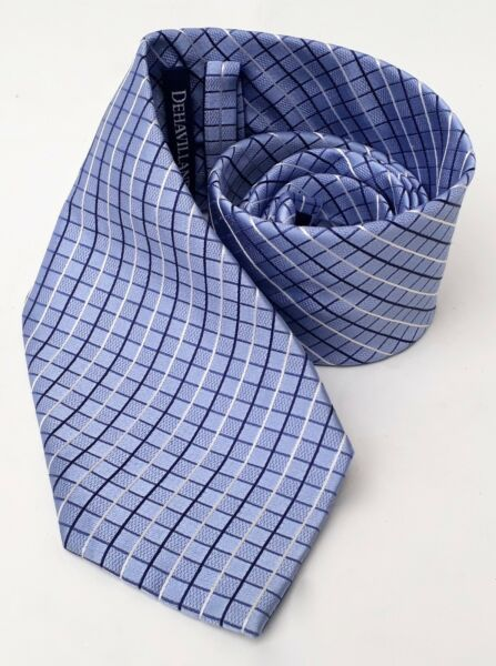 DEHAVILLAND - Hand Made Pure Silk Tie - 60
