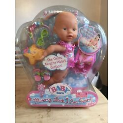 RARE Zapf Creations Baby Born Mommy Look I Can Swim Doll! New In Package Mermaid