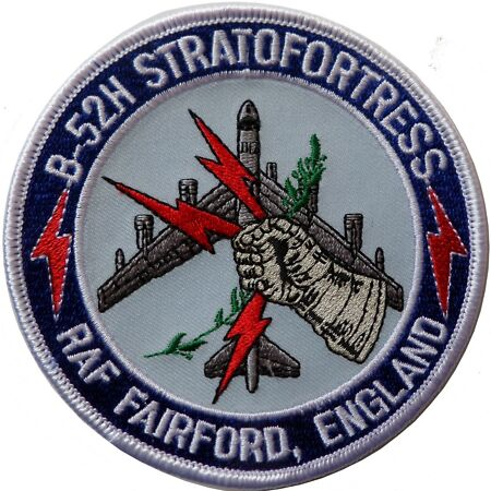 img-Boeing B-52 Stratofortress United States Air Force USAF Embroidered Patch