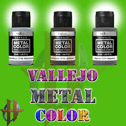 Kyпить Vallejo Metal Color Airbrush Paint 32 ML - 17 Different Colors to Choose From на еВаy.соm