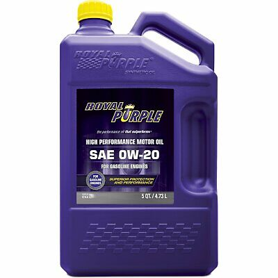 Royal Purple 51020 API-Licensed SAE 0W-20 High Performance Synthetic Motor Oil..