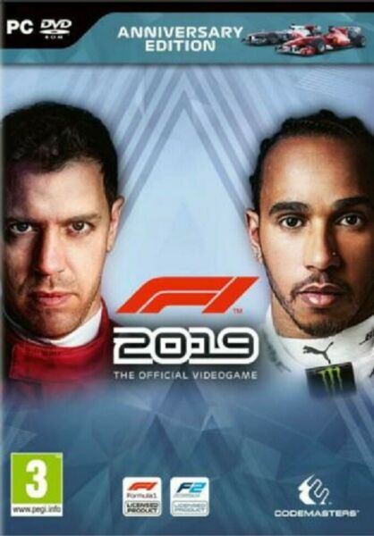 F1  2019 - PC - ITALIANO ORIGINALE - STEAM ACCOUNT FORMULA 1 19