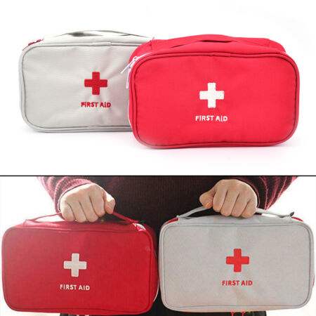 img-Travel First Aid Kit Bag Home Emergency Medical Survival Rescue Box Camp Tool lq
