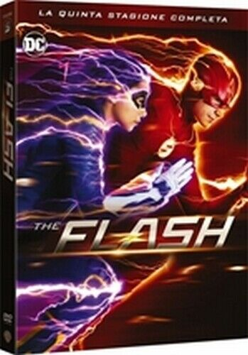 The Flash - Stagione 5 (5 DVD) - ITALIANO ORIGINALE SIGILLATO -