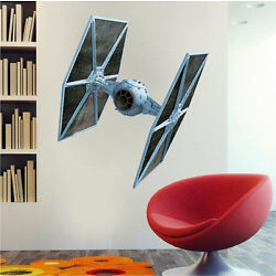TIE Fighter Star Wars Wall Decal from Prime Decals b16