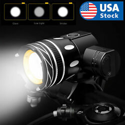 Kyпить USB Rechargeable Bicycle Light Set Bike Front LED Zoomable Headlamp lamp  T6  на еВаy.соm