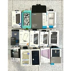 Branded Phone Tablet Cases for iPhone Samsung - MIXED LOT 50 PC - Shelf Pulls