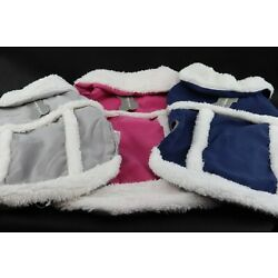 Sherpa Jacket / Coat for Dogs - Multiple Sizes and Colors!