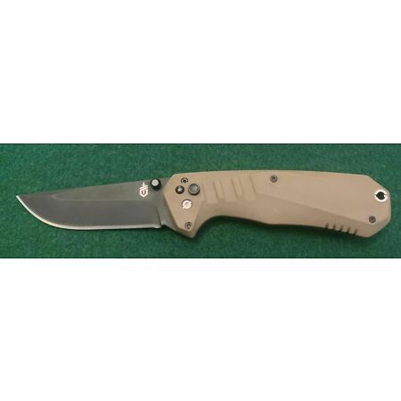 img-Couteau Gerber Haul A/O Lame Acier 5Cr13MoV Manche OD Green Plunge G1680