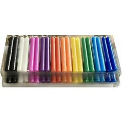 Kyпить Taper Spell Candles 40 Pcs, Assorted Colors, Use for Casting Chimes, Spells, на еВаy.соm