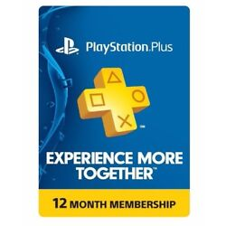 Kyпить Sony PlayStation PS Plus 12-Month / 1 Year Membership Subscription на еВаy.соm