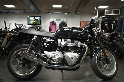 TRIUMPH THRUXTON 1200, 2019, VANCE AND HINES EXHAUSTS
