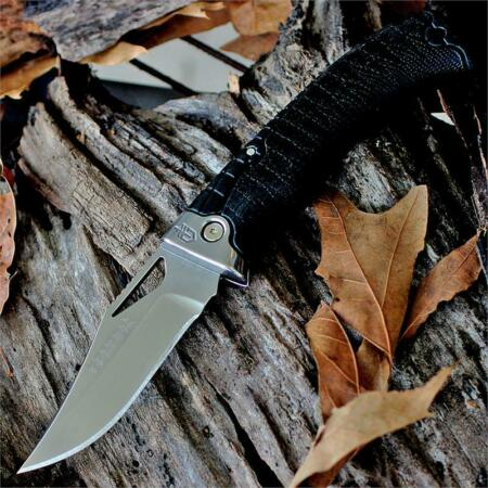 img-Couteau Gerber Gator Premium S30V Manche Abs Etui Cuir Made In USA G1085