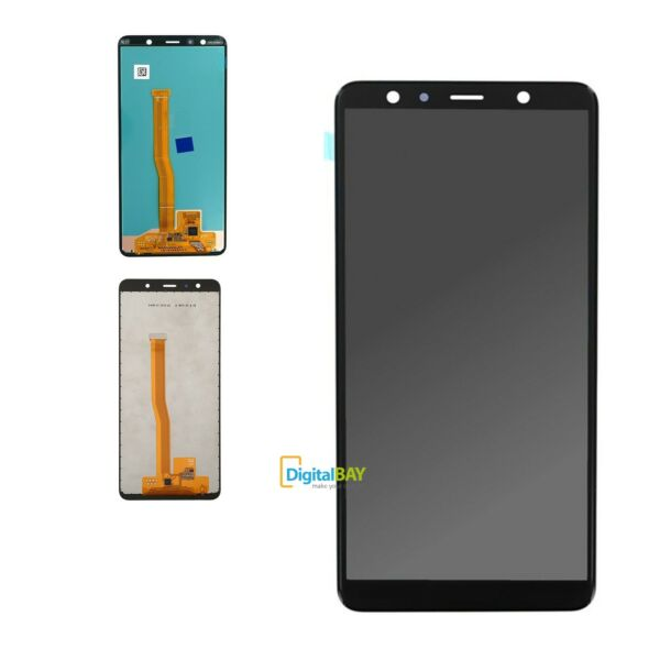 Ricambio Lcd Vetro Touch Screen Display Schermo Samsung Galaxy A7 2018 A750 Nero
