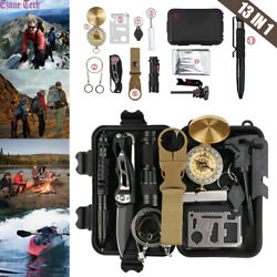 Kyпить 13 In 1 Outdoor Survival Kit Camping Emergency Gear Tactical Tools EDC Tool Case на еВаy.соm