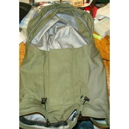 img-typhoon gore-tex immersion suit olive green optional detachable hood excellent