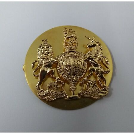 img-Genuine British Army Issue Warrant Officers WO1 RSM Wrist Strap Badge - NEW