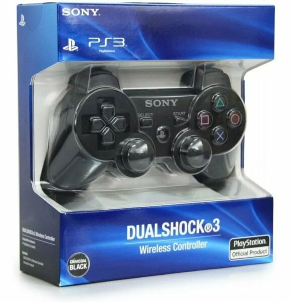 PS3 PLAYSTATION 3 - CONTROLLER JOYPAD JOYSTICK WIRELESS ORIGINALE SONY - NUOVO