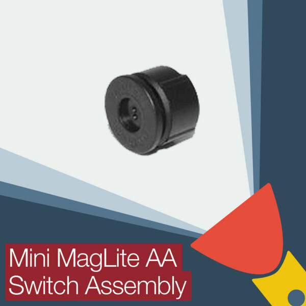 Mini MagLite AA Torch/flashlight Replacement Switch Assembly